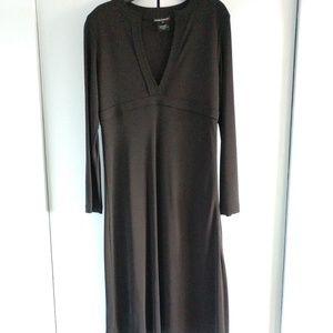 CLUB MONACO HIGH WAIST LBD DRESS EUC BLACK